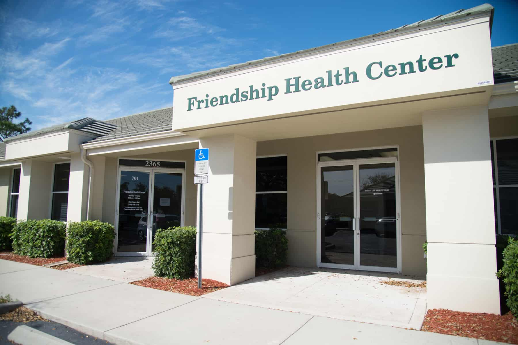 Friendship Centers Collier County