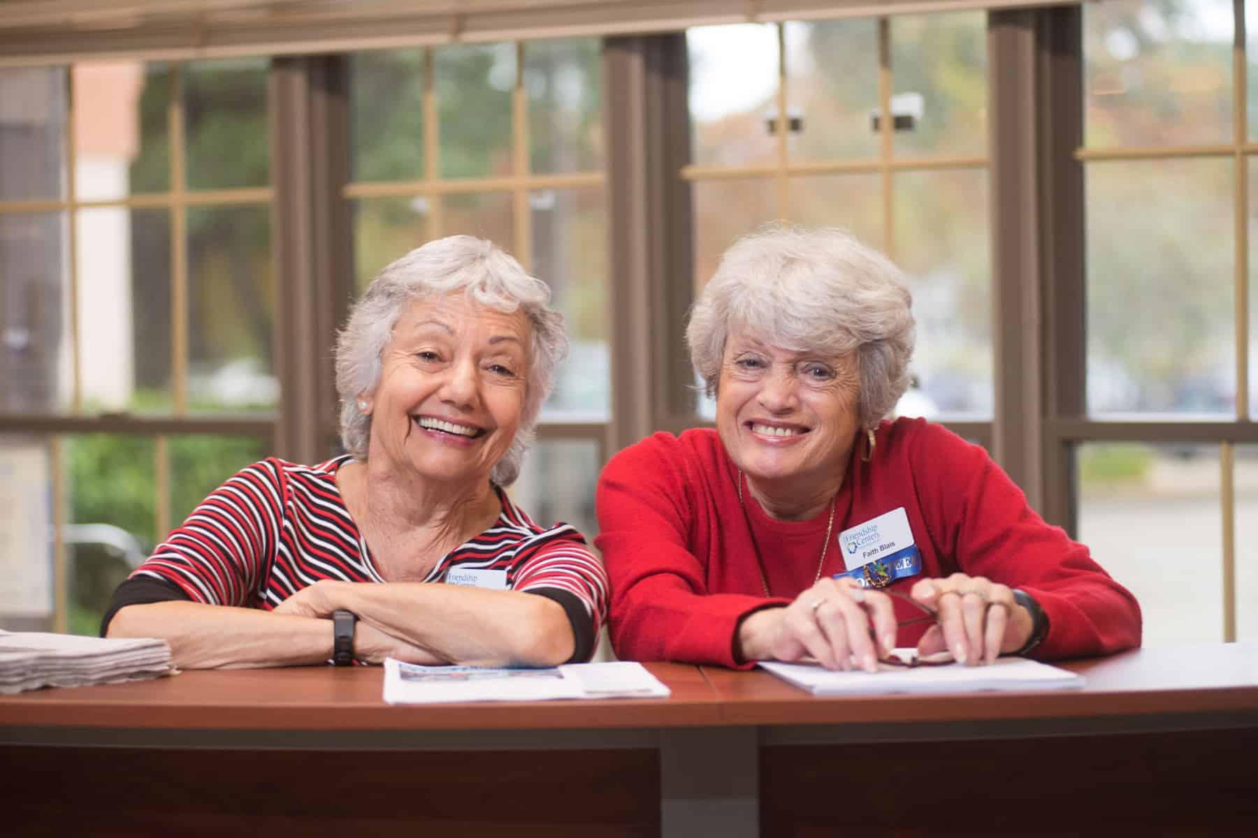 Friendship Centers Volunteering