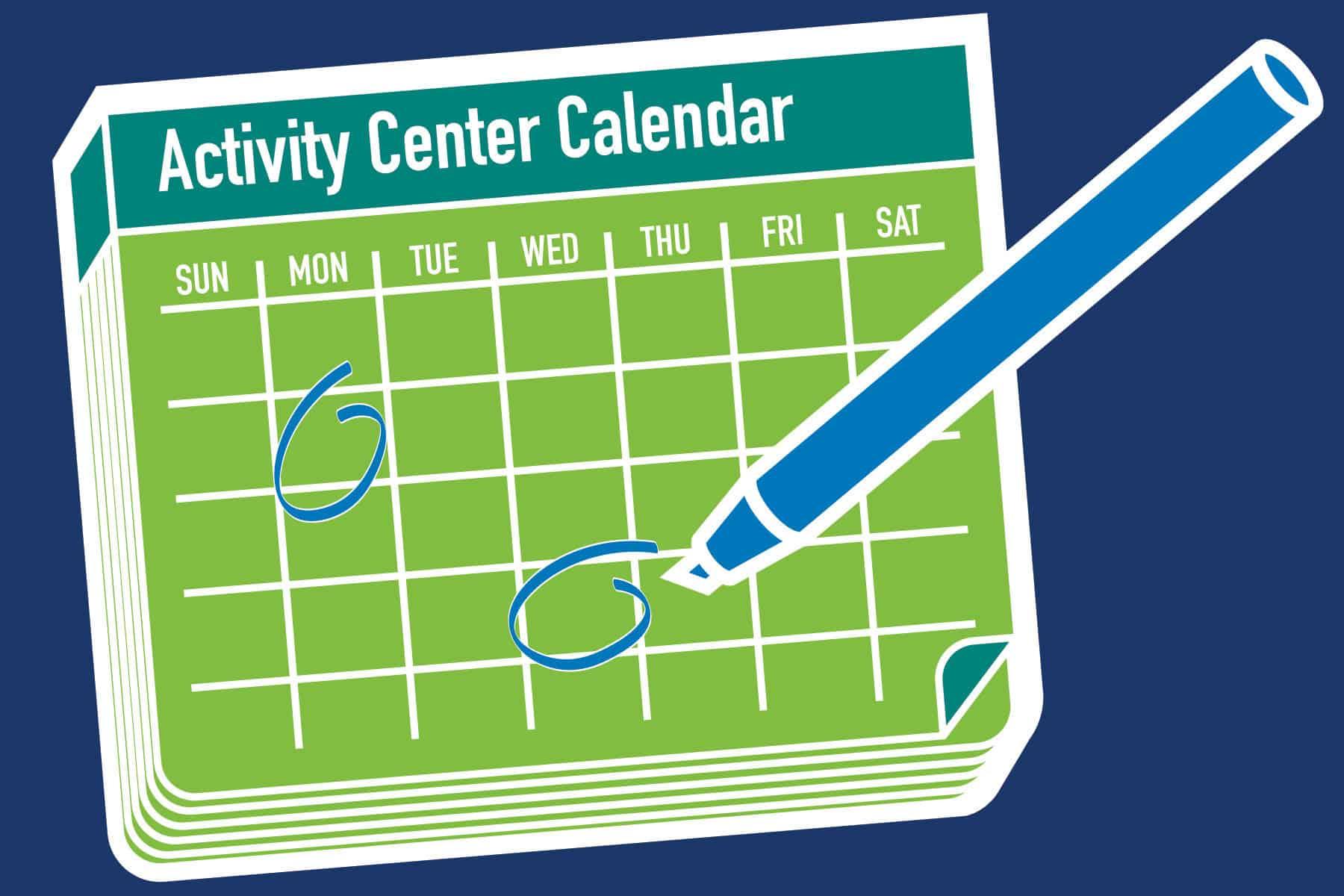 Friendship Centers Venice Calendar