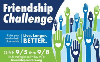 Friendship Challenge: Raise Your Hand to Help Older Adults