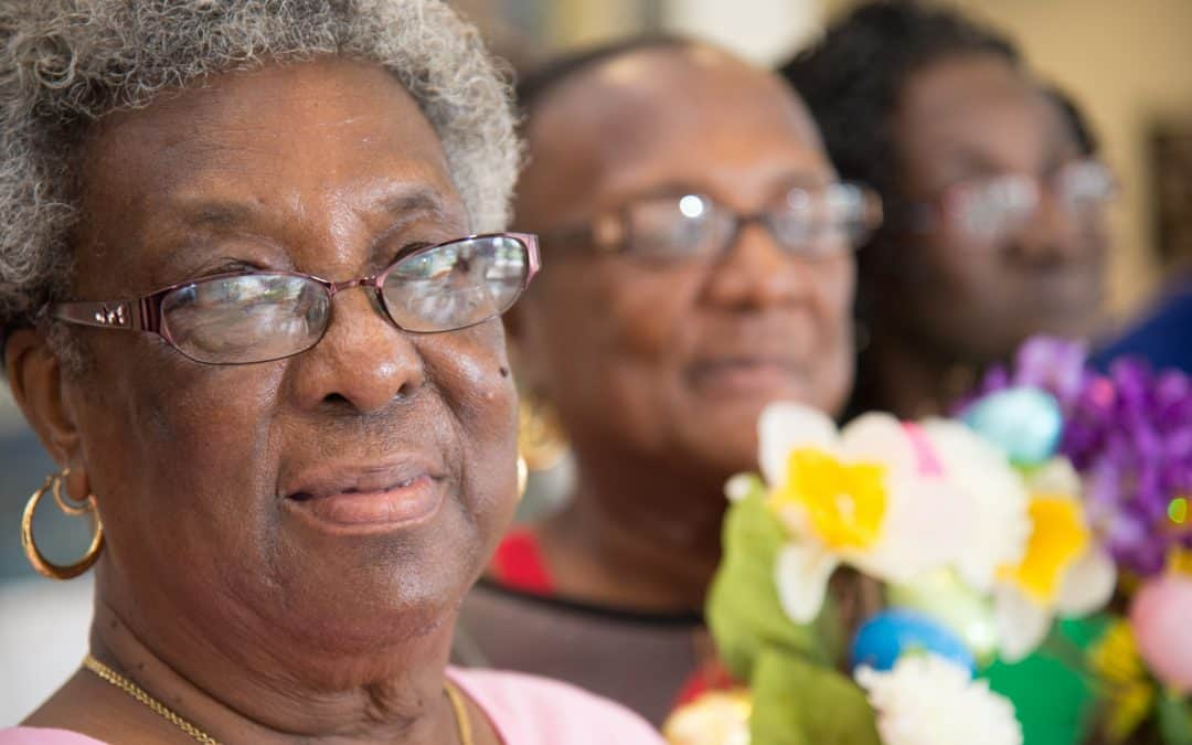 Lee County Dining Site is a Daily Reprieve for Participant Mary Jenkins