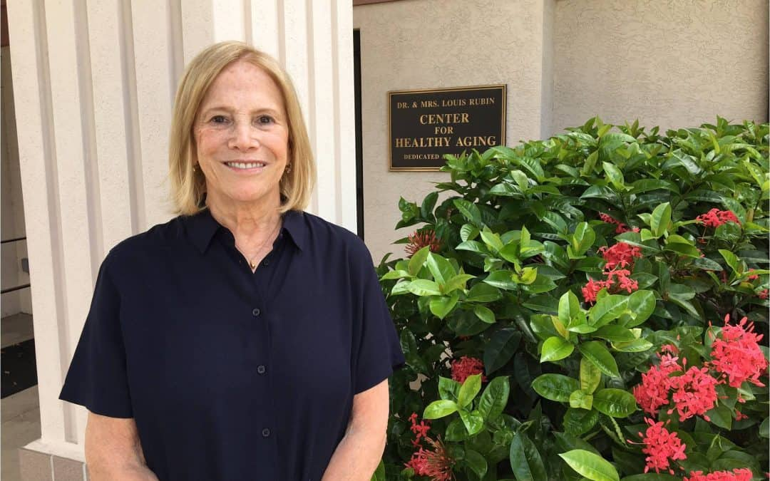 Vicki Smiles a Lot as a Volunteer and Participant at the Sarasota Friendship Center