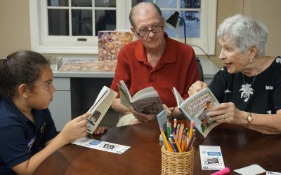 Intergenerational Reading Program Unites Seniors and Students