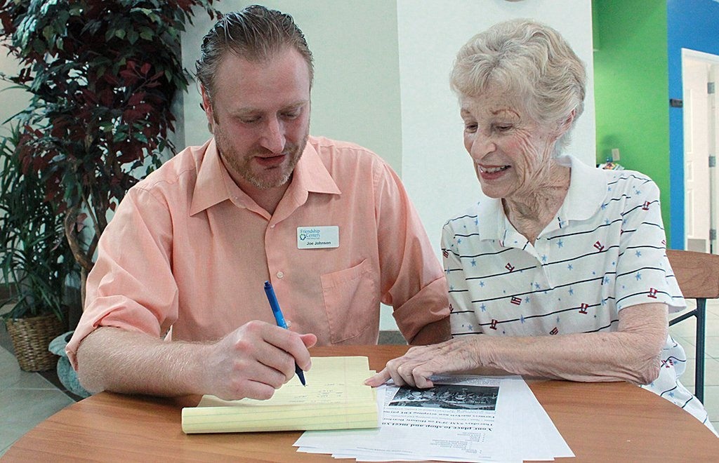 Financial Security Joe Johnson Rose Burke for Living with Support Help in Difficult Times